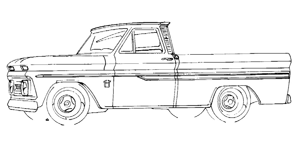 Chevy truck 4wd ls swap conversion for Chevy nova coloring pages