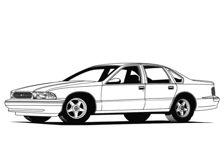 chevy impala coloring pages bltidm