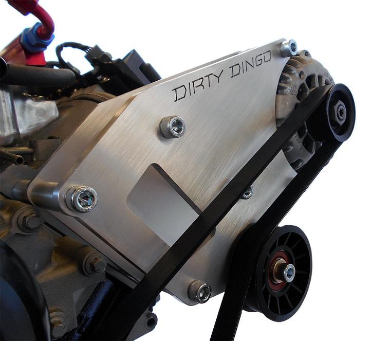 Ls Conversion Swap Billet Aluminum Alternator Only Bracket